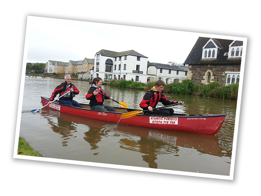 Canadian Canoeing Lessons Bude